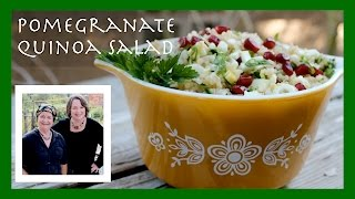 A Tabouli-like Quinoa & Pomegranate Salad -- A Bright Flavor For The Winter Months