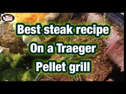 Texas Jack Cooking A Ribeye Steak On The Rectec Grill Doovi