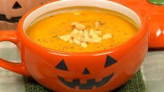 Pumpkin Potage (Halloween Recipe) カボチャのポタージュ ハロウィンレシピ 作り方