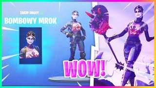 DARK BOMBER DANS LE JEU! NOUVEAU SKIN et GATHERAK: DARK BOMB-Fortnite Battle Royale