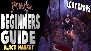 Albion Online | Beginners Guide | Black Market + PVE Loot Drops