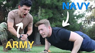 Navy Sailor Attempts the NEW Army Combat Fitness Test