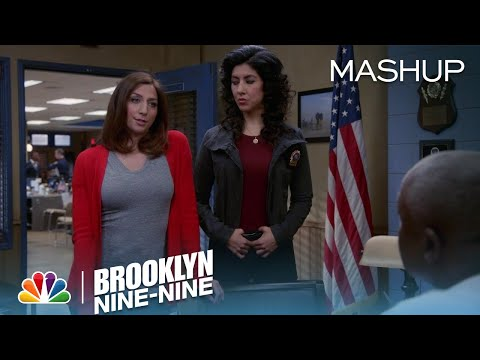 Brooklyn Nine-Nine - Gina's One-Liners: The Human Form of the (100) Emoji (Mashup)