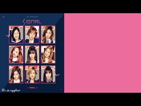 Twice (트와이스)- SIGNAL (Karaoke With Lyrics)