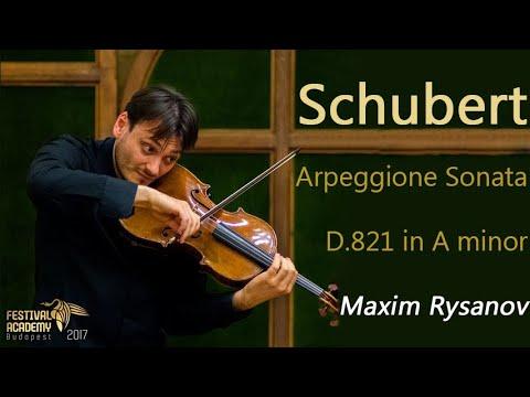 Schubert Arpeggione Sonata, D.821 in A minor - Maxim Rysanov