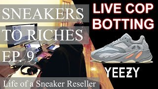 Sneakers to Riches Ep 9 - BOTTING YEEZY 700 Inertia Ft Project Destroyer Dev, Notify, Notify Proxies