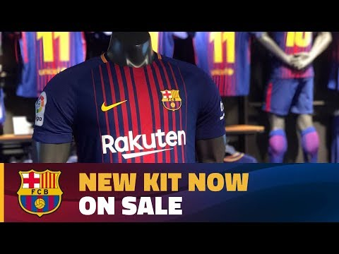 Out with the old and in with the new in the official FC Barcelona shop