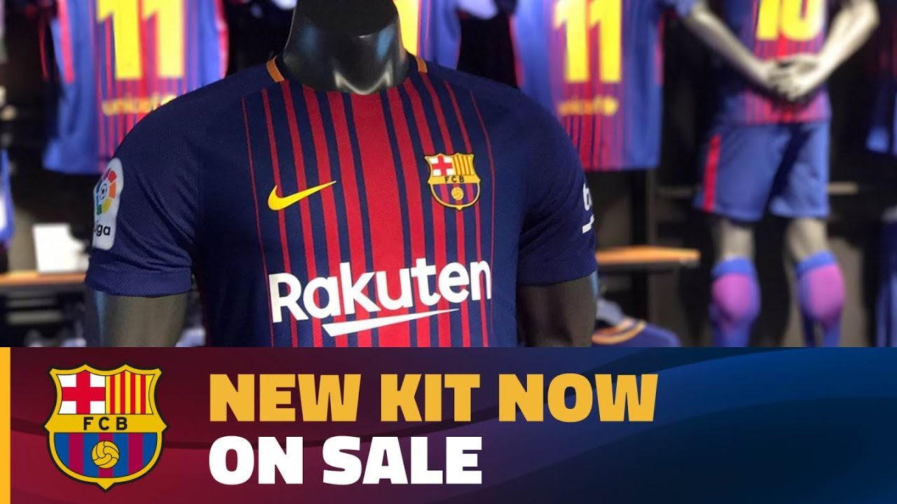 Out with the old and in with the new in the official fc barcelona shop youtube - The body shop barcelona ...