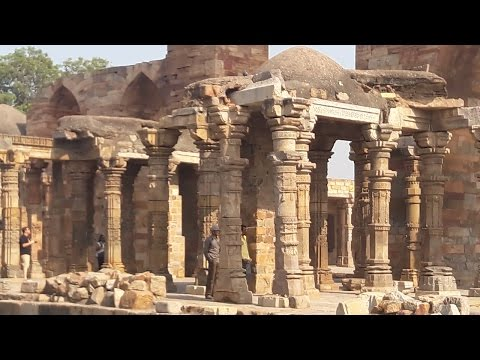 TRIP TO QUTUB MINAR MEHRAULI COMPLEX PLACES GUIDE NEW DELHI INDIA