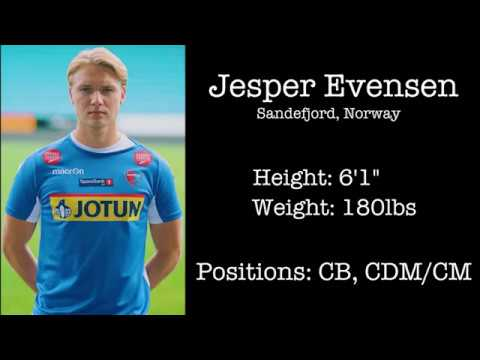Jesper Evensen Highlights  - College Soccer Recruiting 2018/2019