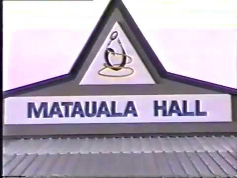 The opening of the Tokelau ATAFU Matauala Hall 1987