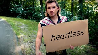 Gambar cover Diplo presents: Thomas Wesley - Heartless ft. Morgan Wallen (Official Lyric Video)