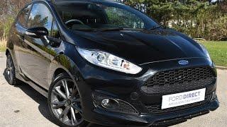 Used Ford Fiesta ST-Line 140 Shadow Black 2016