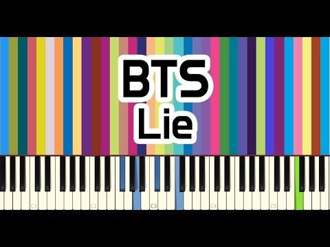 BTS(방탄소년단)  - Lie piano cover