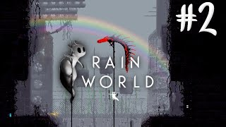 Rain World - Trying to tame a Red Lizard