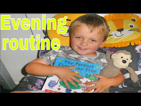 OUR FAMILY HOUSEHOLD  EVENING ROUTINE / FAMILY LIFE /