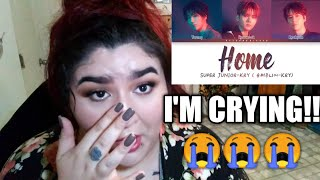 SUPER JUNIOR-K.R.Y 슈퍼주니어 'HOME' LYRICS ||REACTION|| IT HIT M…