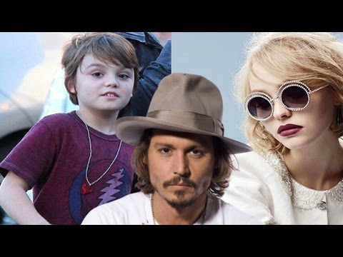 Johnny Depp's Daughter & Son - 2018 | Johnny Depp kids - 2018