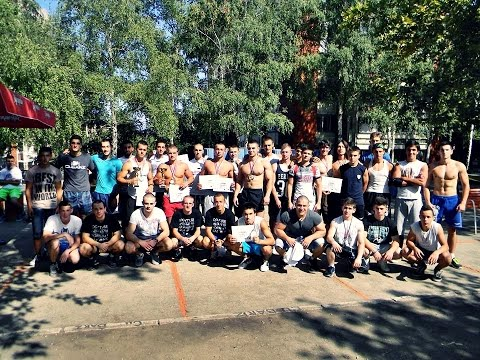 Street Workout competition Bor 2015 (highlights)