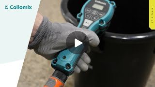 AQiX AQiX Precision Water Meter for Material Mixing with Automatic Flow Stop /& 3//4 Quick Hose Connector COLLOMIX Water Dosing Device