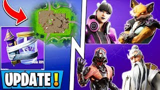 "'NOUVEAU Fortnite 10.10 Mise à jour! ""Void"" POI, All Skins, Junk Storm Item!"