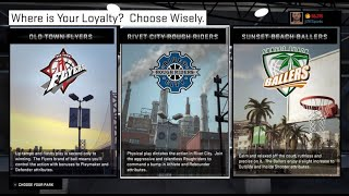 What Happened To Affiliations In NBA2K MyPark?