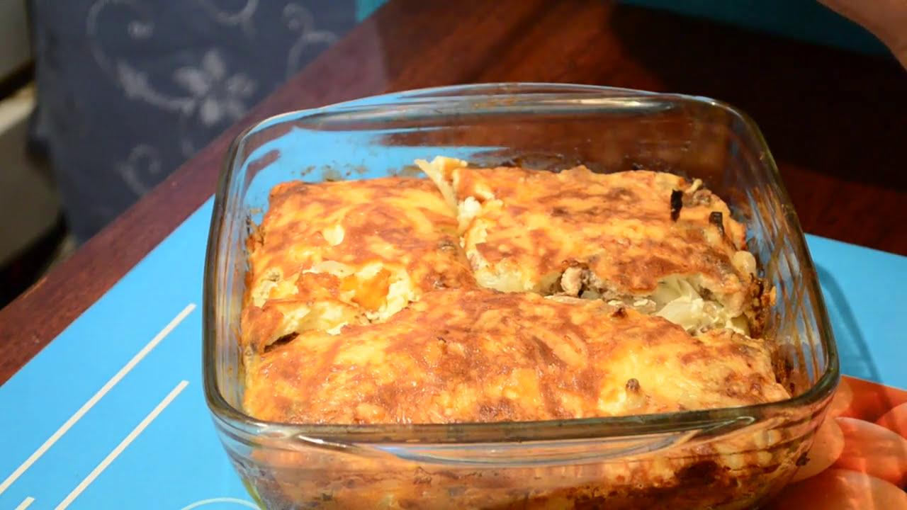 Рыбная запеканка с картофелем.