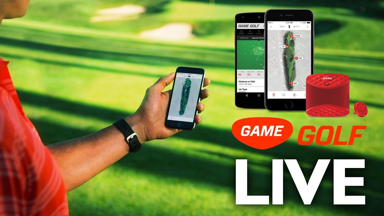 game golf live real time shot tracking youtube. Black Bedroom Furniture Sets. Home Design Ideas