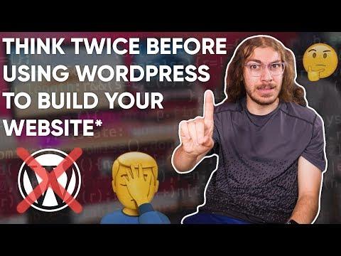 Users, beware.. avoid WordPress!* | WordPress Review