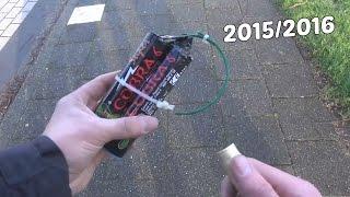 Vuurwerk Compilatie 2015/2016 | oud en nieuw
