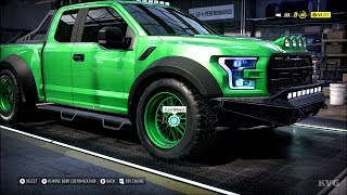 Need for Speed Heat - Ford F-150 Raptor 2017 - Customize | Tuning Car (PC HD) [1080p60FPS]