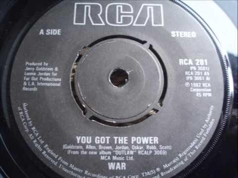 WAR  YOU GOT THE POWER