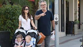 Alec Baldwin And His Beautiful Family Loving Sunny LA
