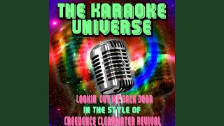 Lookin' Out My Back Door (Karaoke Version) (in the Style of Creedence Clearwater Revival)