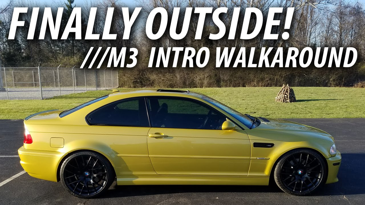 2005 E46 Bmw M3 Intro Walkaround Phoenix Yellow Metallic Youtube