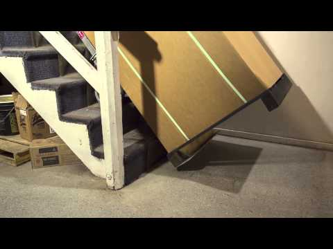 Moving a safe downstairs