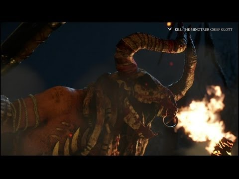Ryse: Son of Rome - Killing the Minotaur Chief Glott