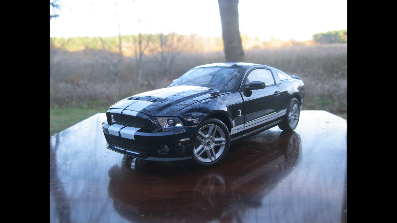 1 18 Ford Mustang Shelby Gt500 By Shelby Collectibles