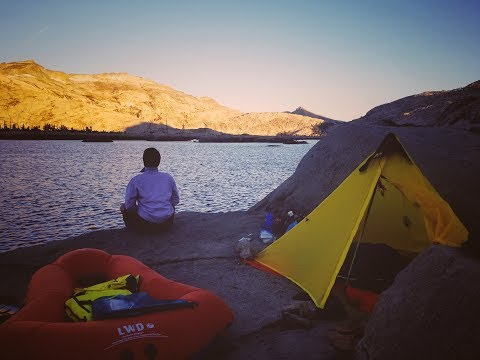Lake Aloha Backpacking 2018| Klymit LiteWater Dinghy | Tienzomby