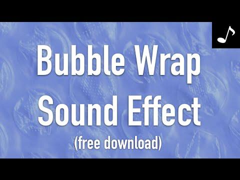 Bubble Wrap Sound Effect