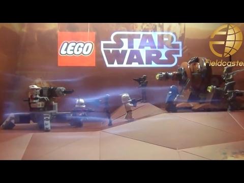 東京おもちゃショー LEGO STARWARS A.R.  Display TOKYO TOY SHOW 2012