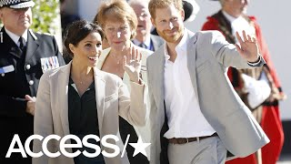How Meghan Markle Hid Her Baby Bump With Strategic Style Choices! | Access