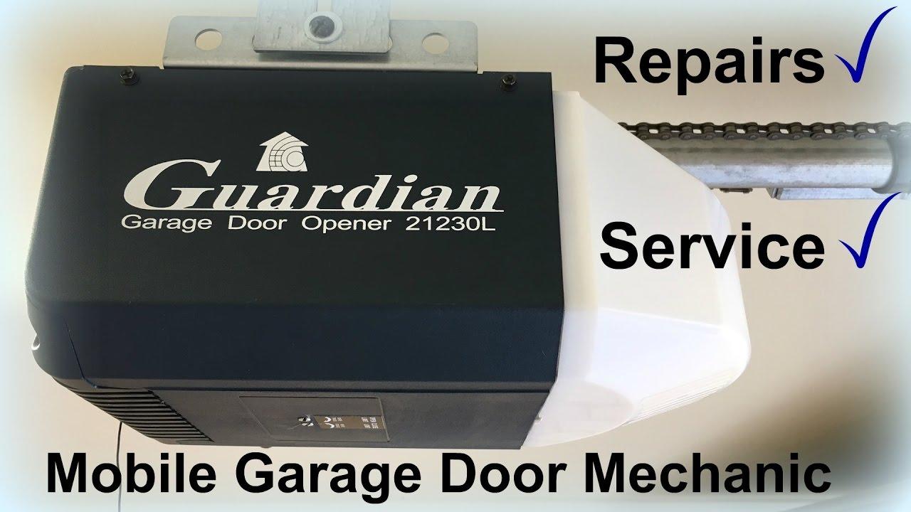 Guardian Garage Door Opener 21230l Youtube