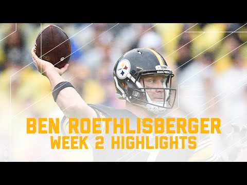 Every Ben Roethlisberger Throw | Bengals vs. Steelers | NFL Week 2 Player Highlights