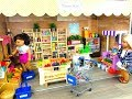 American Girl Doll Supermarket/ Grocery Store Set Up