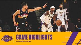 HIGHLIGHTS   Los Angeles Lakers Vs Phoenix Suns
