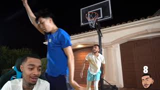 FlightReacts RICEGUM vs BRAWADIS BASKETBALL 1v1! Ex-Girlfriend Bet!