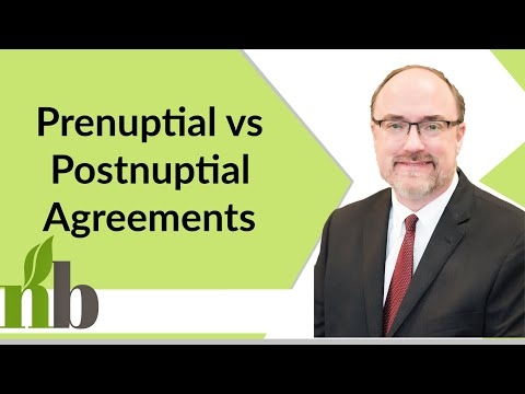 Prenuptial vs Postnuptial Agreements | Huntsville Divorce Lawyers | Divorce Lawyer | David Pace