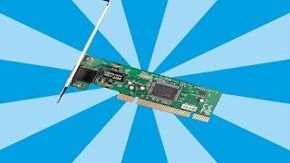 Устанавливаем PCI Сетевуху | Видео урок