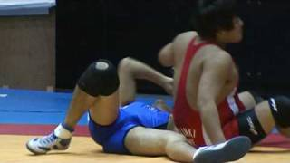 Japanese Freestyle Wrestling - pin